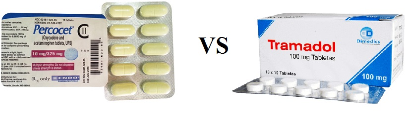 Tramadol vs Percocet Strength, Withdrawl