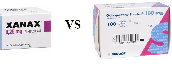 Compare Gabapentin vs Xanax