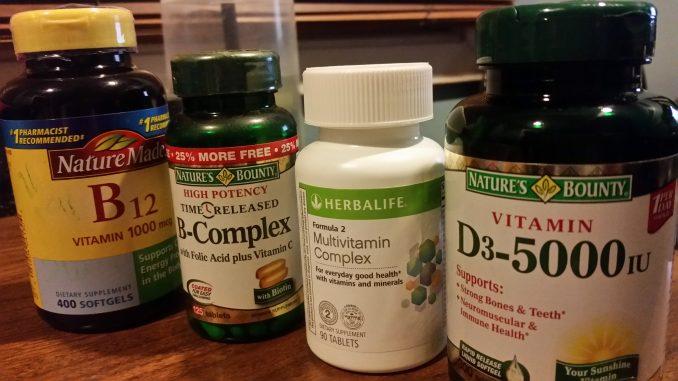 Safe to take Vitamin B12 with Multivitamin, B complex, Vitamin D and Vitamin C