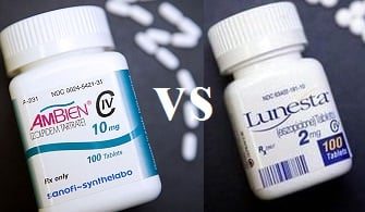 difference between lunesta and ambien
