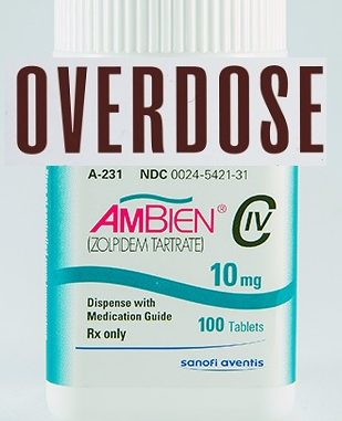 Ambien lethal dose
