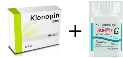 difference between klonopin and ambien