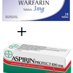Is it safe to take aspirin and warfarin together