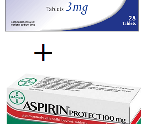 Is it safe to take aspirin and warfarin together
