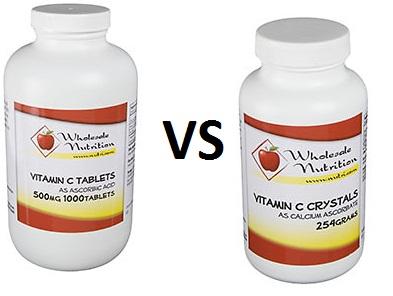Is ascorbic acid the same as vitamin C