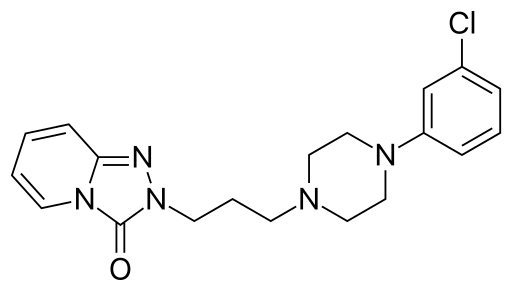 Trazodone structure