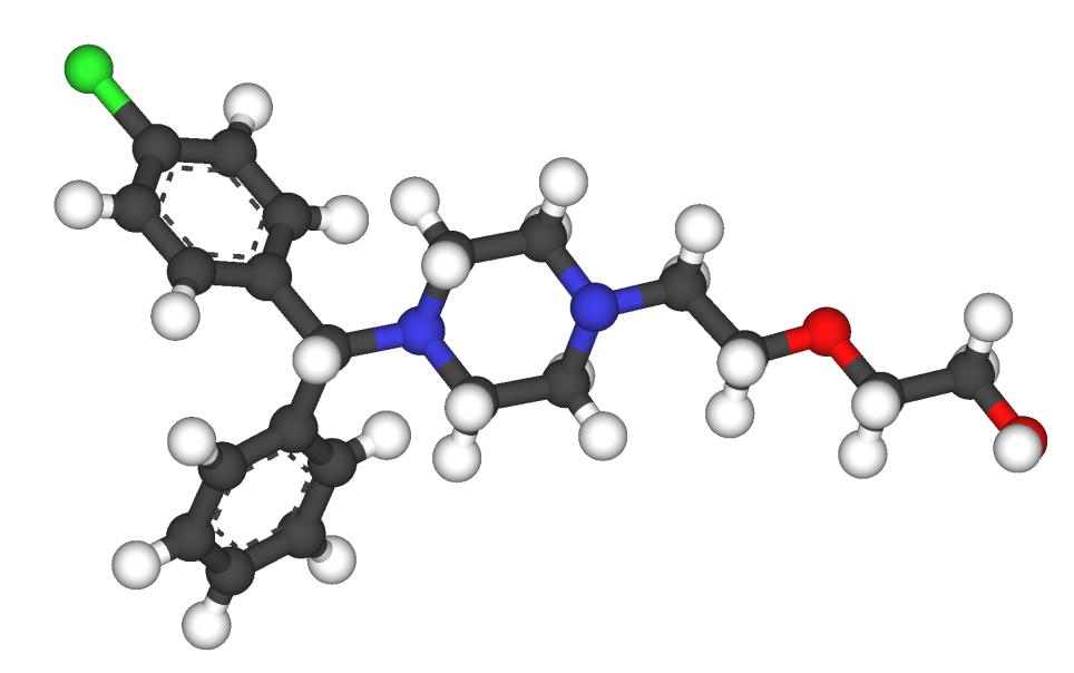 Hydroxyzine Chemical name