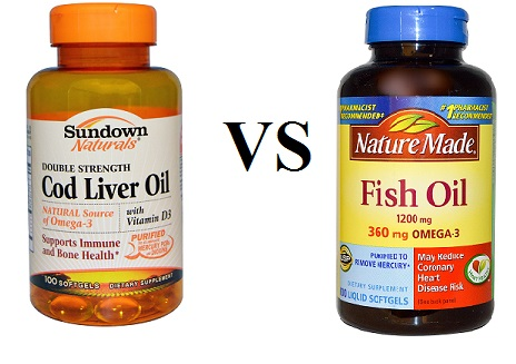 Cod liver oil vs fish oil drug details for Fish oil supplement dosage
