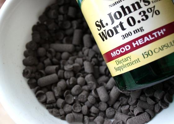 how does st. john's wort work as an antidepressant