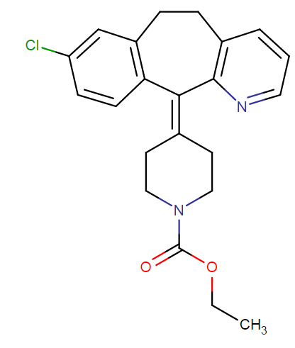 Loratadine molecular formula
