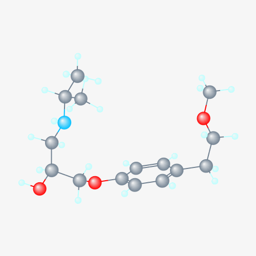 metoprolol molecular formula