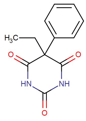 phenobarbital chemical formula