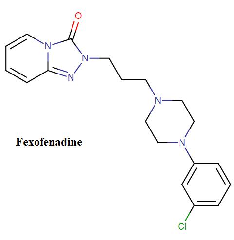 fexofenadine molecular formula
