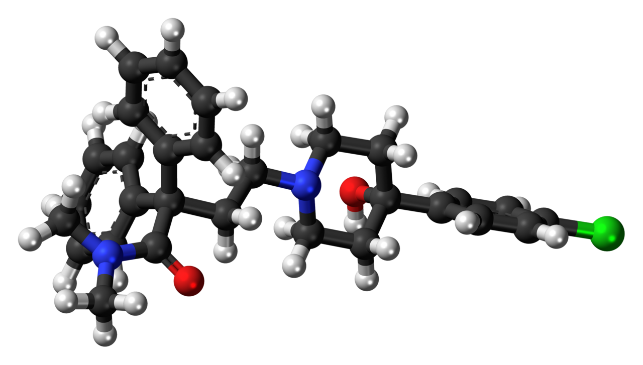 Loperamide molecular weight 3d