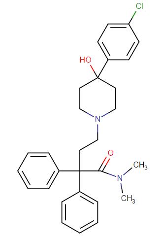 Loperamide molecular formula