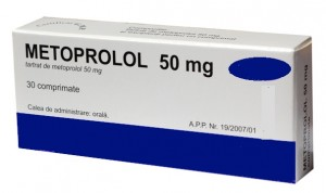 What is metoprolol tartrate 50 mg used for?