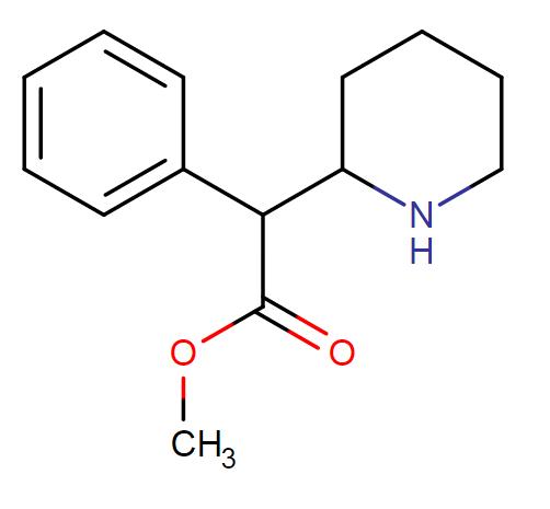 methylphenidate molecular formula
