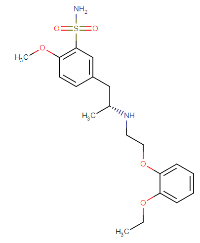tamsulosin molecular formula