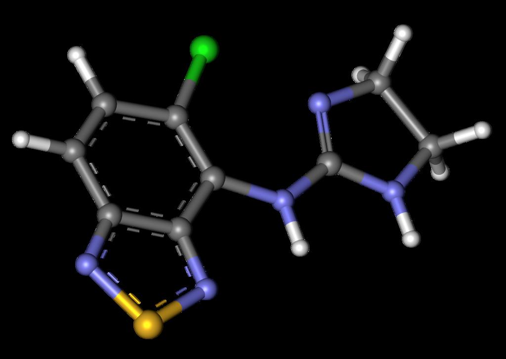 Tizanidine molecular weight and drug class