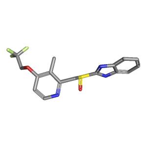 Dexlansoprazole molecular formula