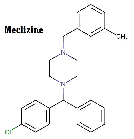 Meclizine's chemical class