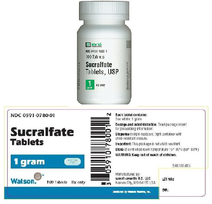 What is in sucralfate