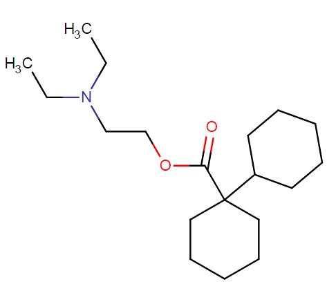 Dicyclomine molecular formula