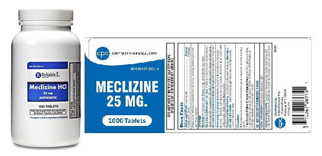 What is Antivert used for? meclizine 25 mg dosage