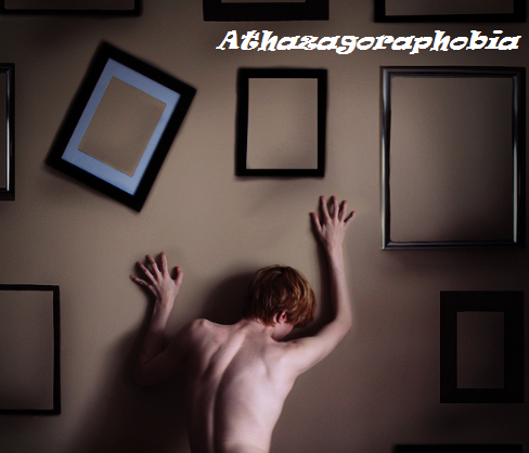 athazagoraphobia pronunciation, defintion, meaning, quiz, test, symptoms, diagnosis and cure