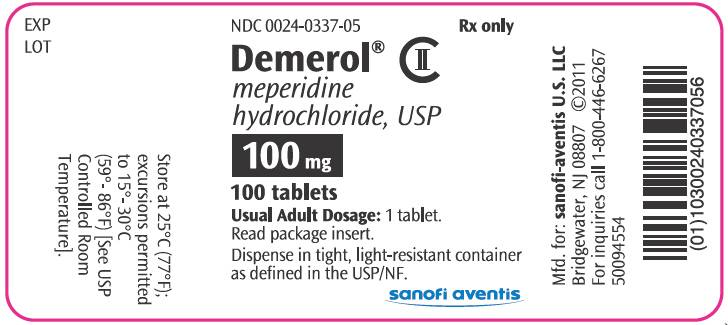 MEPERIDINE - INJECTION (Demerol) side effects, medical uses, and interactions