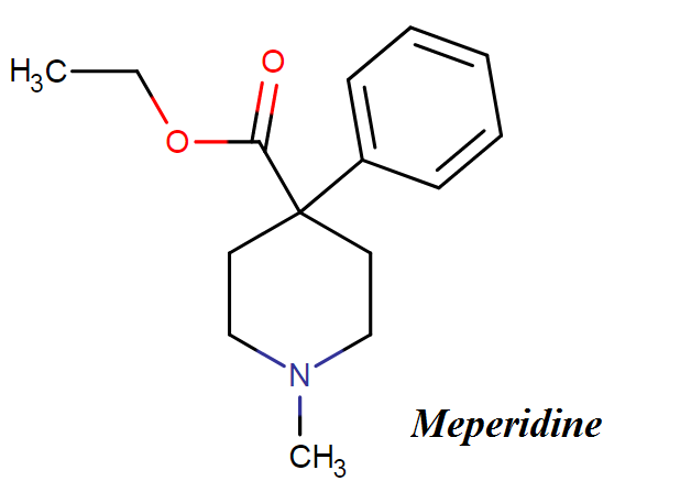 Meperidine chemical name