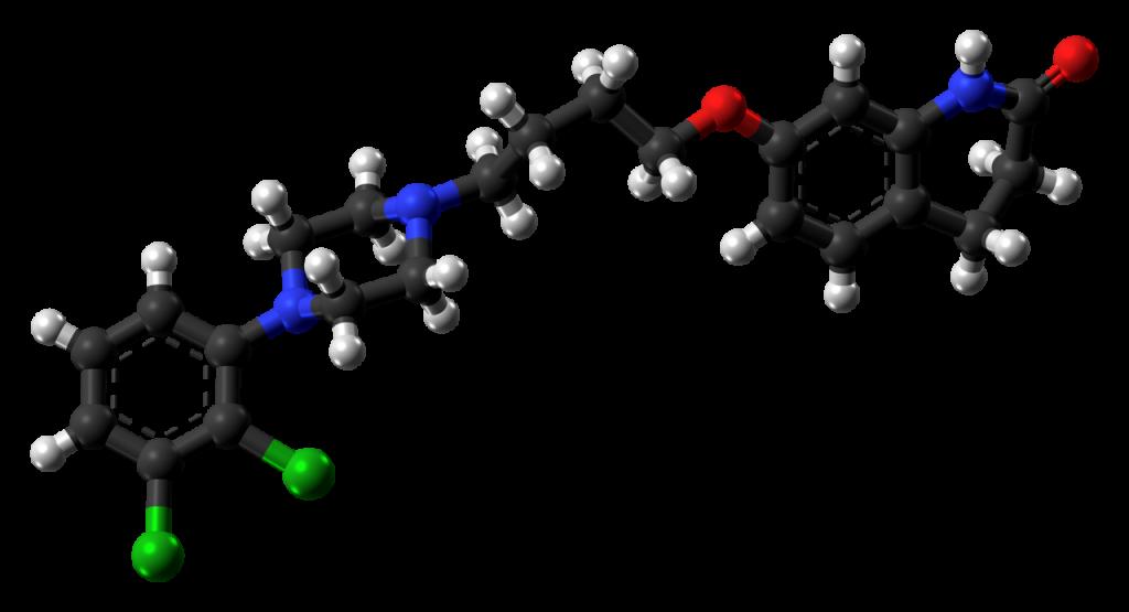 aripiprazole 3d model