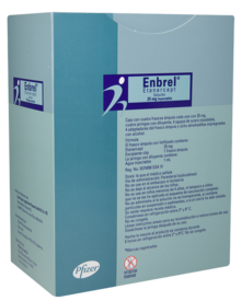 Enbrel (Etanercept): Side Effects, Interactions, Warning, Dosage & Uses