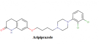 Aripirazole molecular formula, structure, weight, chemical name, drug class