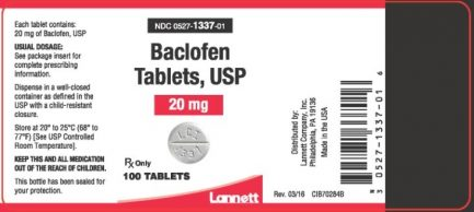 Is baclofen considered a benzodiazepine?