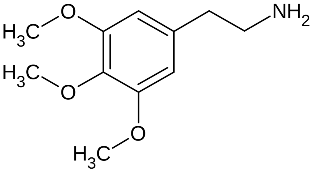 mescaline chemical structure