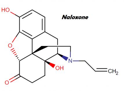 naloxone chemical structure