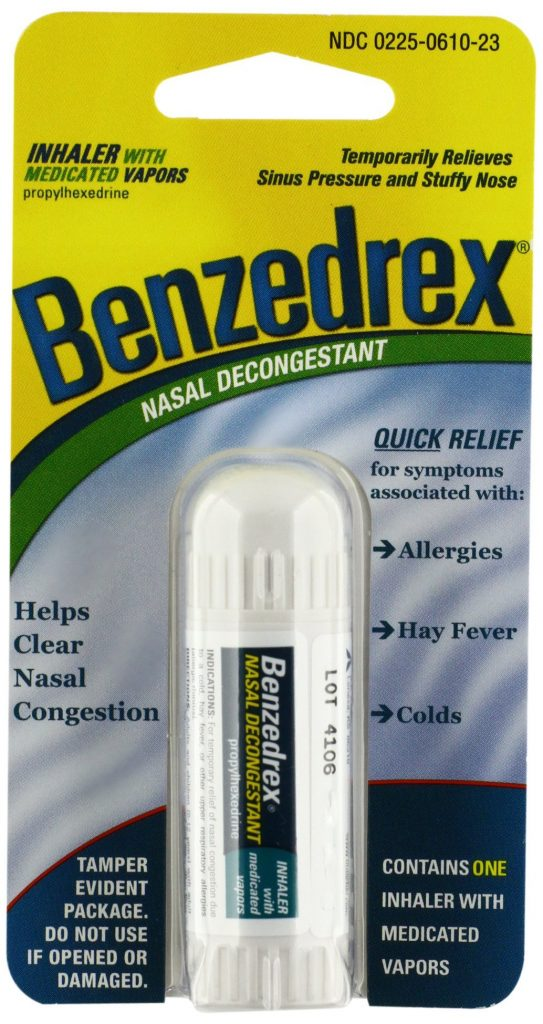 What Is Benzedrex, and How Is It Abused?
