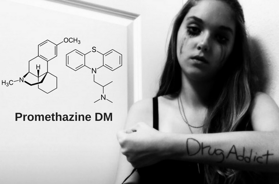 Promethazine-dm - High on cough syrup, use, effects, addiction and withdrawal