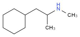 Propylhexedrine IUPAC name, chemical structure, mass, formula