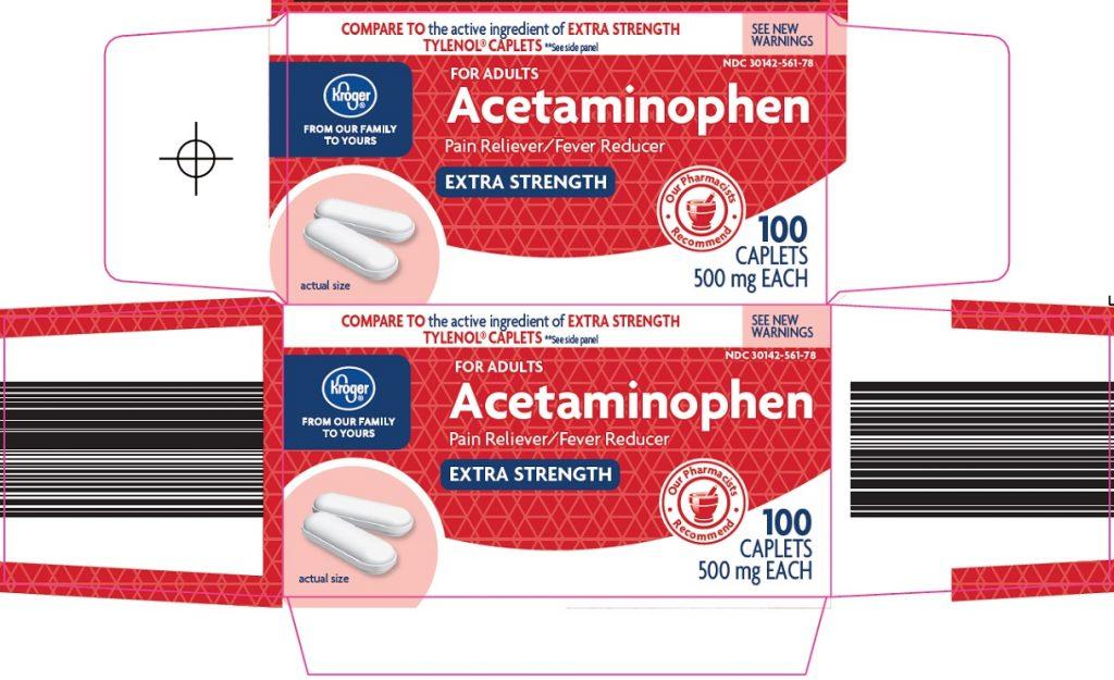 Acetaminophen Oral Tablet 500Mg Drug Medication Dosage Information