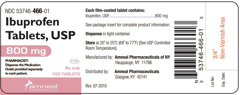Ip 466 Pill Drug Class Imprint Strength Color Size