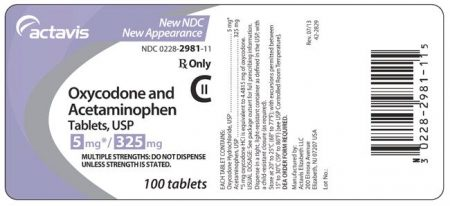 Oxycodone-Acetaminophen Oral : Uses, Side Effects, Interactions