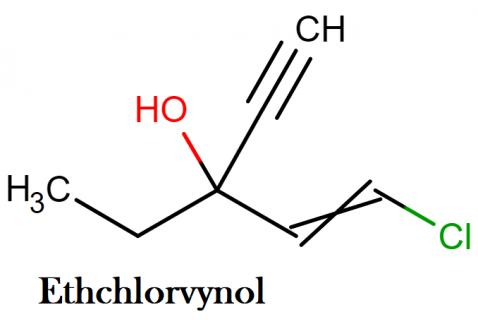 ethchlorvynol structure