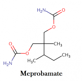 meprobamate chemical structure