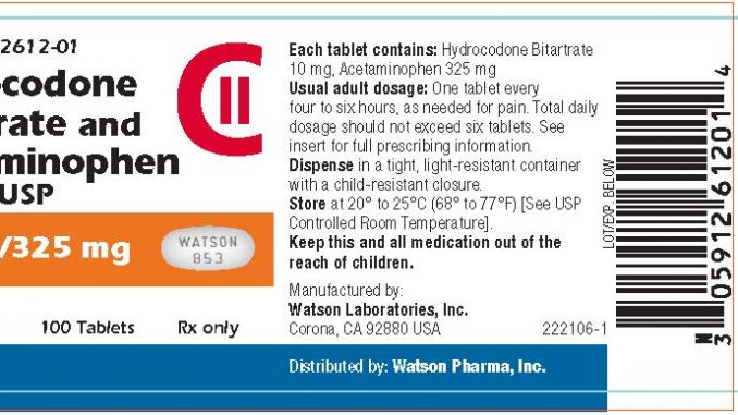WATSON 853 pill - drug class, dosage, size, shape, uses, side effects