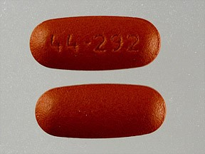 44-292 orange pill side effects