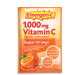 How many times can you take Emergen C in a day?