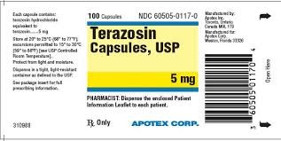 Terazosin: Side Effects, Dosages, Treatment, Interactions, Warnings