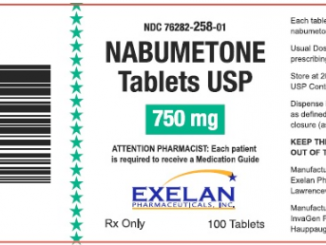 Relafen (Nabumetone): Side Effects, Interactions, Warning, Dosage